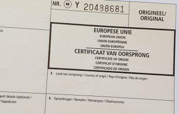 Certificaat van Oorsprong